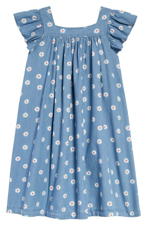 Beautiful Zipper Soft Cotton White Gown with Blue Gray Patterned Prints Whimsical Applique Vintage 0-3 Months Size FREE SHIPPING