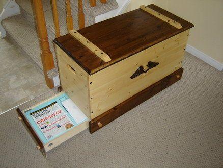 Secret Compartment Toy Box decorative knobs turn to open secret base | LumberJocks | Wooden Box | Pinterest | Secret compartment Decorative knobs and Toy ... & Secret Compartment Toy Box decorative knobs turn to open secret ... Aboutintivar.Com