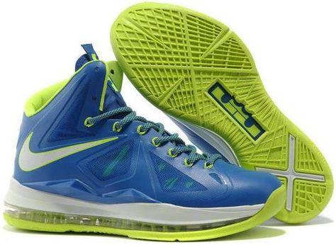 on sale ae2c2 51b8e Nike Lebron X Heat Away XDR Green Blue