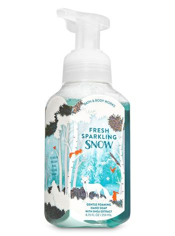 Fresh Sparkling Snow Gentle Foaming Hand Soap Bath And Body