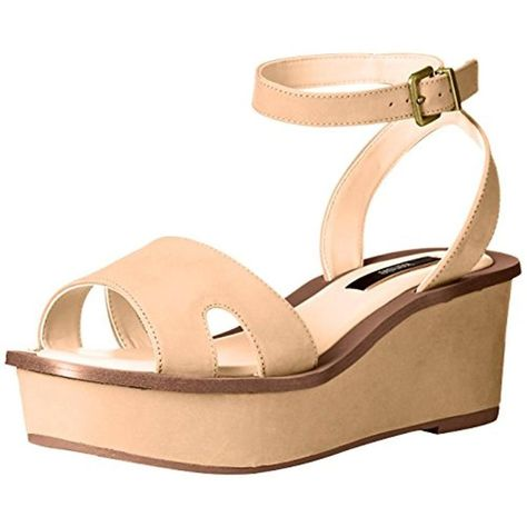 a67a1ef2214 Kensie Womens Tray Tan Strappy Platform Sandals Shoes 8.5 Medium (BM) BHFO  6962  fashion  clothing  shoes  accessories  womensshoes  sandals  ad (ebay  link)