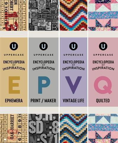 The UPPERCASE Encyclopedia of Inspiration (Pre-Order Next 4