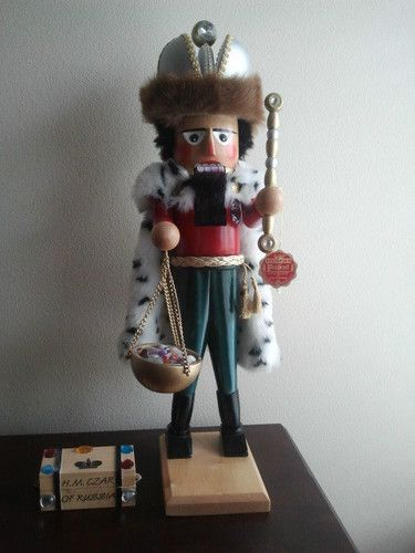 Steinbach H M Czar of Russia Nutcracker Hand Signed and RARE to Find | eBay