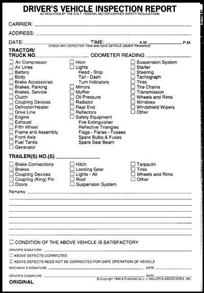 Free Vehicle Inspection Form Template Skye Evans Mfc Dance