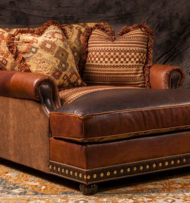 Living Room I Fort Worth Tx I Western I Brumbaugh S Fine Home Furnishings Rustic Sofa Southwestern Home Decor Furniture