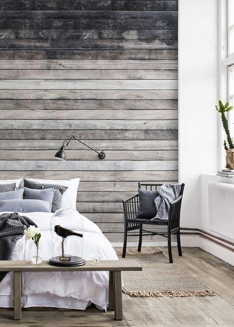 Worn Wood In 2020 Schlafzimmer Tapete Tapeten Wohnzimmer Und