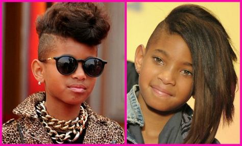 raspar o cabelo willow smith side cut