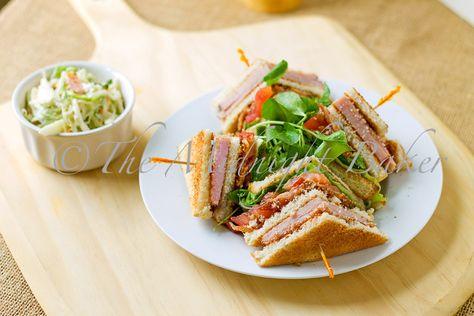 Club Sandwich para una increible cena, buen provecho!