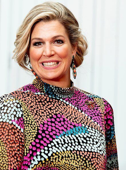 Queen Maxima And King Willem Alexander Attended A Dinner At The
