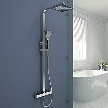 Duschsystem Mit Thermostat Duscharmatur Duschset Mit Rainshower