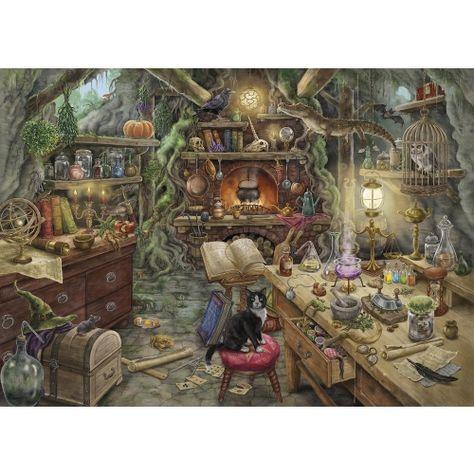 Escape Puzzle Cuisine De Sorciere Puzzles Adultes Puzzles