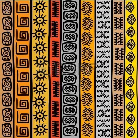 Afrikanisches Muster Afrikanische Muster 9