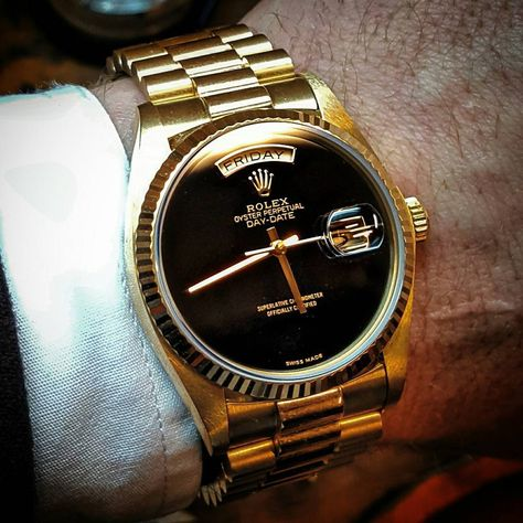 Rolex Watches - Rolex Watches - Already sold but had to share this picture of this onix dial 18038 ⚫
