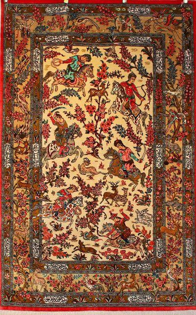 Persian Rug Silk Rugs