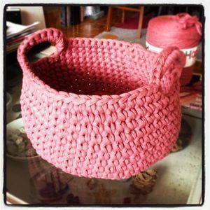 1 Panier 2 Paniers 3 Paniers Et Plus Si Affinite Tutoriel De Panier En Crochet Modele De Panier En Crochet Et Panier Crochet