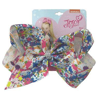 Jojo Siwa Series 2 Patterned Bow - Splat