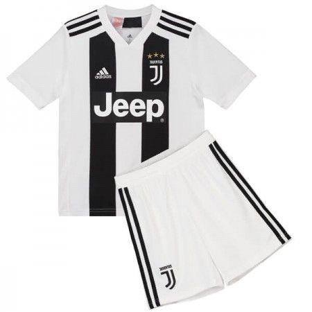 Juventus Fussballtrikots Kinder 2018 19 Heim Trikotsatz