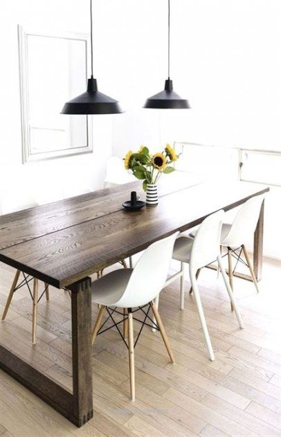 Kitchen Scandinavian Grey Eames Chairs 51 Super Ideas Scandinavian Dining Room Scandinavian Dining Table Dining Room Furniture Design