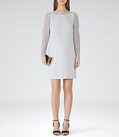 9c630943e8ce Buy Ted Baker Hahri Embellished Bodycon Dress Online at johnlewis.com
