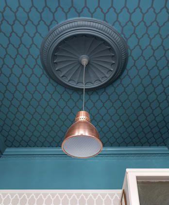 Farbige Akzente Fur Decke Und Boden Das Haus Tapezieren Deck