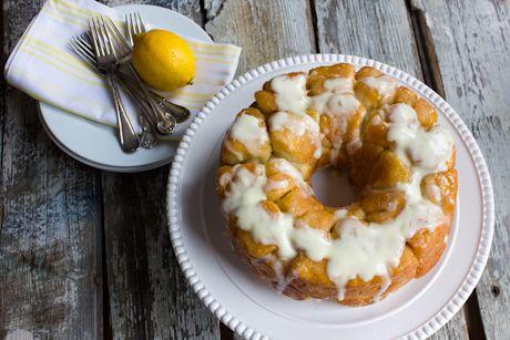 Monkey bread, ou pain brioché au citron