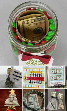 white elephant gifts Fun and Creative Ways to Give Money as a Gift Homemade Christmas Gifts, Christmas Fun, Holiday Gifts, Creative Christmas Gifts, Adult Christmas Gifts, Brother Christmas Gifts, Christmas Gift Exchange, Last Minute Christmas Gifts, Christmas Presents