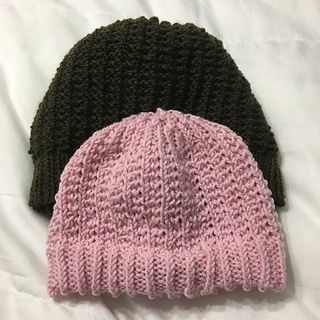 Agnes Nitt S Knitted Hat Is A Reversible Hat That Has A Little Rib On One Side And A Boxy Pattern On The Other It Was Inspir Hat Pattern Knitting Knitted Hats