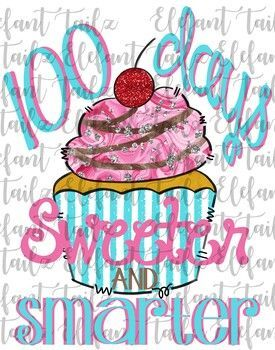 100th Day of School Clipart {100 Days of School Clipart} | TpT