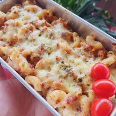 Resep Schotel Macaroni Bolognese Kukus Oleh Rhinie S Kitchen Cookpad Makaroni Makanan Resep Masakan