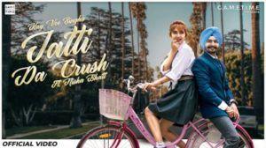 Jatti Da Crush Lyrics Kay Vee Singh | Nisha Bhatt Jatti Da