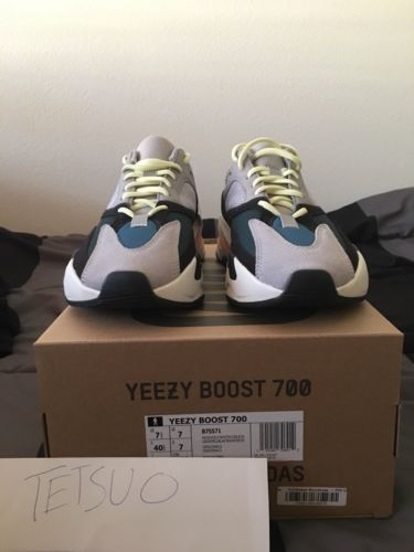 official photos 1925d 4d281 Adidas Yeezy 700 Wave Runner Size 7.5 IN HAND READY TO SHIP ...