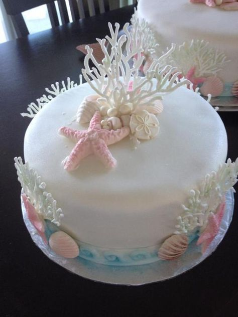 My ocean theme wedding cakes | Bluprint