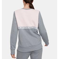 Under Armour Damen Originators Logo mit Rundhalsausschnitt Fleece Obertail