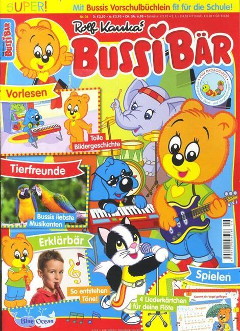 Bussi Bar Ist Die Zeitschrift Fur Kinder Im Vorschulalter Neben