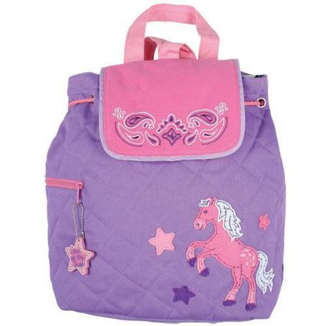 b3e44e78f619 Stephen Joseph backpack PONY HORSE.  30.00