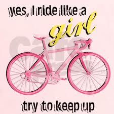 For all the ladies the awesome ladies on #bikes! Love this!