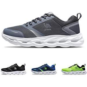 37631d41fd8ae CAMEL CROWN Breathable Trail Running Shoes Lightweight Tennis Shoes ...