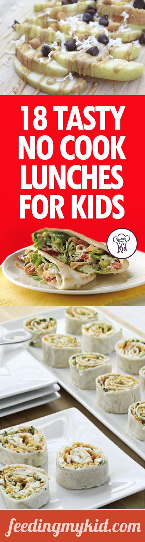 No Cook Lunches For Kids