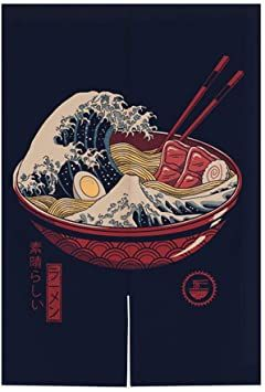 Hornet Park Japanese Style Restaurant Household Kitchen Door Curtain Ramen Sushi 31 5 X 51 2 Inches A In 2021 Door Curtains Kitchen Doors Changing Wall Color