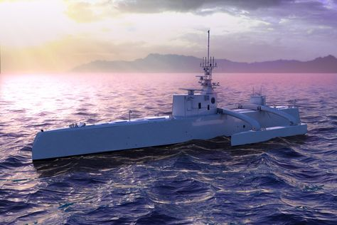 Construction is nearly complete on DARPA's crazy submarine-hunting drone