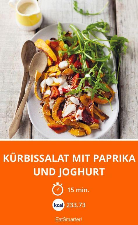 Kürbissalat Mit Paprika Und Joghurt Rezept Leckere Rezepte