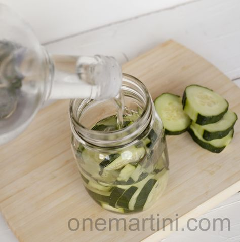 how to make cucumber infused vodka