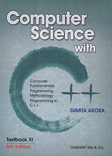 Computer Science With C For Class Xi Computer Science Science Textbook Textbook
