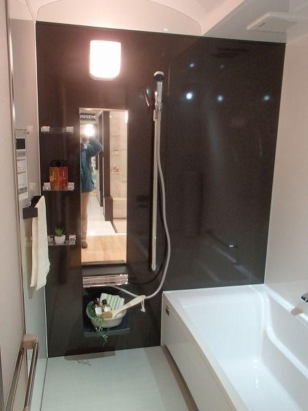 タカラスタンダードのショールームで お客様にお風呂を選んでもらいました お風呂 タカラスタンダード 風呂