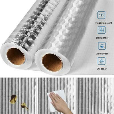 54 Self Adhesive Waterproof Oil Proof Aluminum Wall Sticker Wall Stickers Wallpaper Kitchen Wall Stickers