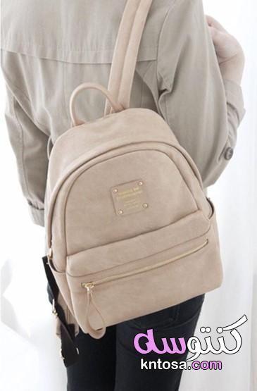 احدث موديلات شنط المدارس لعام 2019 حقائب مدرسة جديدة 2020 Fashion Backpack Bags Leather Backpack