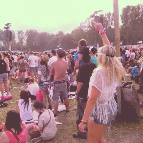 It's werchter style!! (: