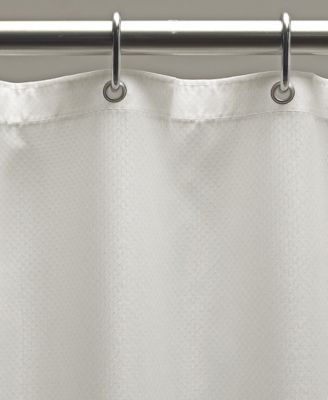 Weighted Fabric 70 X 72 Shower Curtain Liner Bathroom Flooring