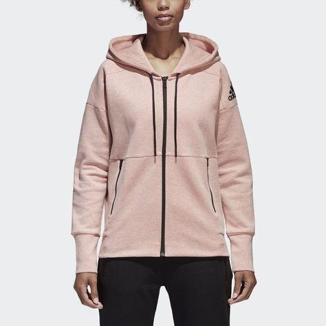 ID Stadium Hoodie Pink M Womens | Blazer jackets for women