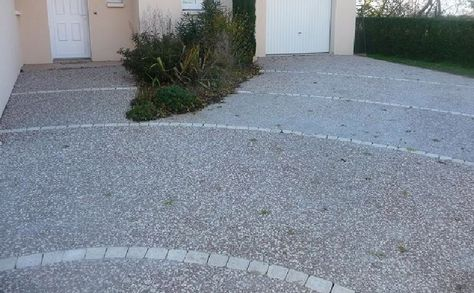Sammut (alleecreative) on Pinterest - allee de garage en cailloux